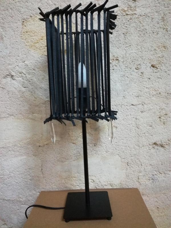 lampe à pampilles