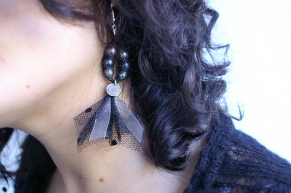 collection 2009 boucles oreilles longues